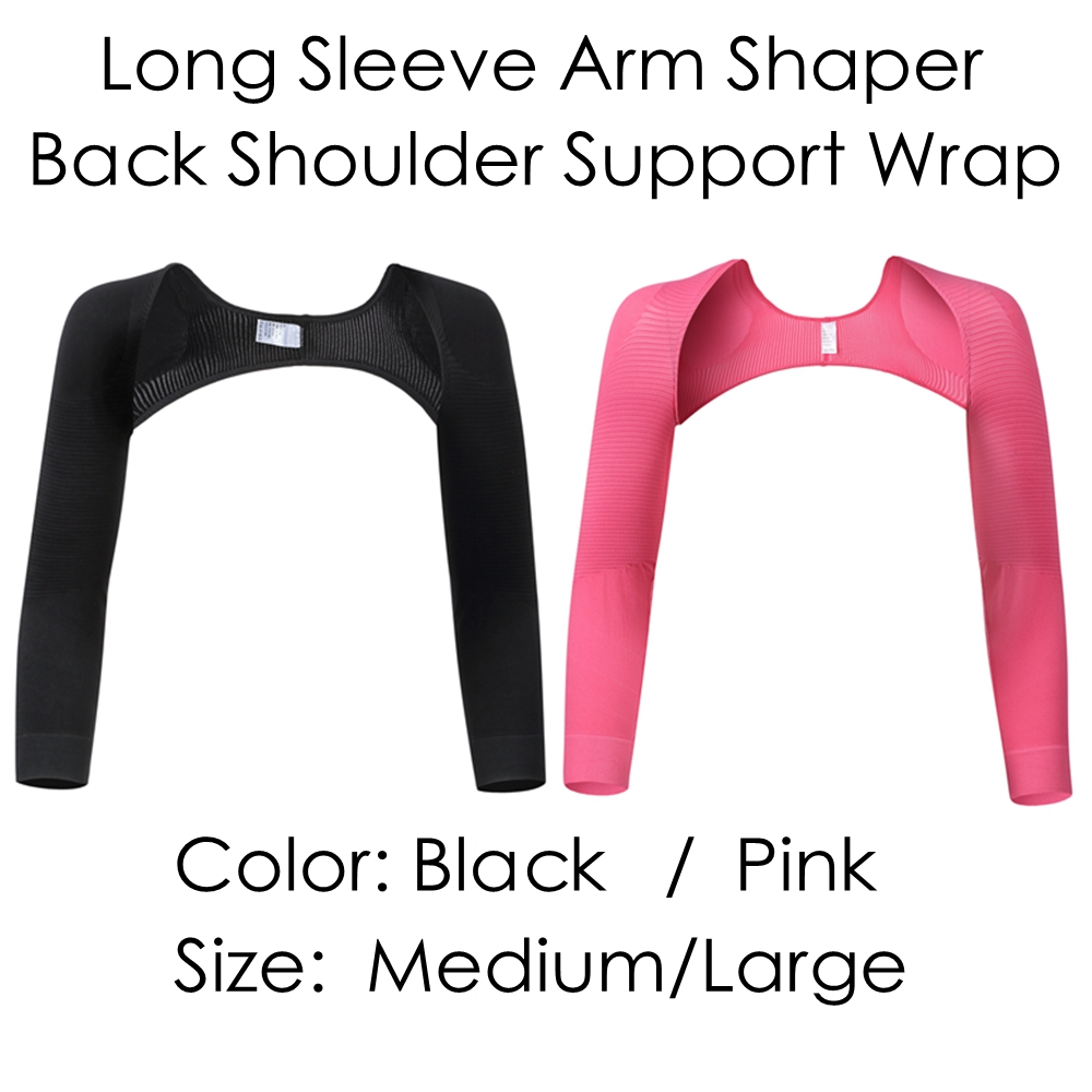Aohaolee Women Arm Trim Long Sleeve Arm Shapers Slimmer Back Shoulder Correctors Arm Lifter Shapers Girdle Arm Control Shapewear
