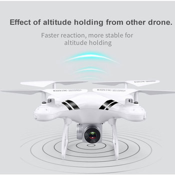 2018 RC Drone Wifi FPV HD Adjustable Camera 0.3MP/5MP 480P/1080P Altitude Hold One Key Return Headless Quadcopter