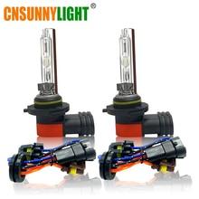 CNSUNNYLIGHT Car Xenon HID Bulbs H1 H3 H7 9005 HB3 9006 HB4 H11 H8 AC 12V/24V 35W 5500K Clear White High Bright Lights