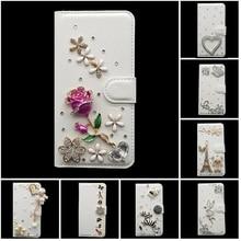 Для Nokia Lumia 1020 1320 1520 430 435 3D ручной работы Искусственная кожа бумажник Flip телефона Case Чехол для Nokia 3, 5 6 Asha 502 чехол