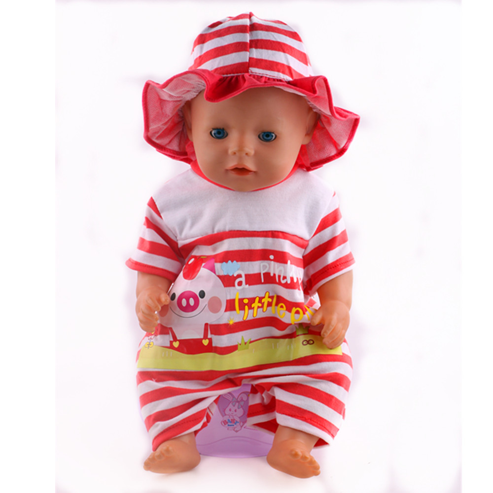 14Style-Choose-1Leisure-Sports-Doll-Clothes-Wear-fit-43cm-Baby-Born-zapf-DollChildren-best-Birthday-Gift-4