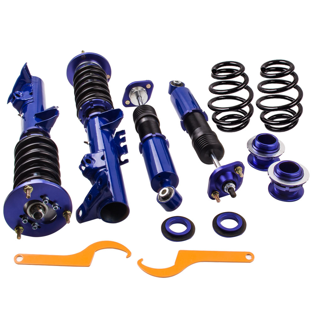 Coilover Suspension Spring Strut for BMW 3 Series E36 318i 323i 325i 328i Shock Absorber Struts for bmw e36 318i 323i 325i 328i m3 carbon fiber headlight eyebrows eyelids 1992 1998