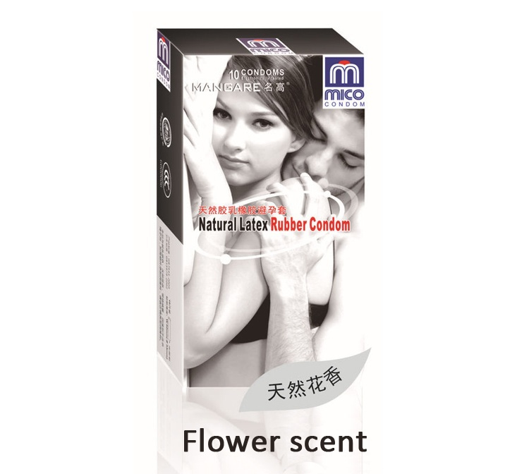 Buy Hot Sell 10pcs/lot Flower Scent Condoms Sex Condoms Sex Products Sex Toys Couples
