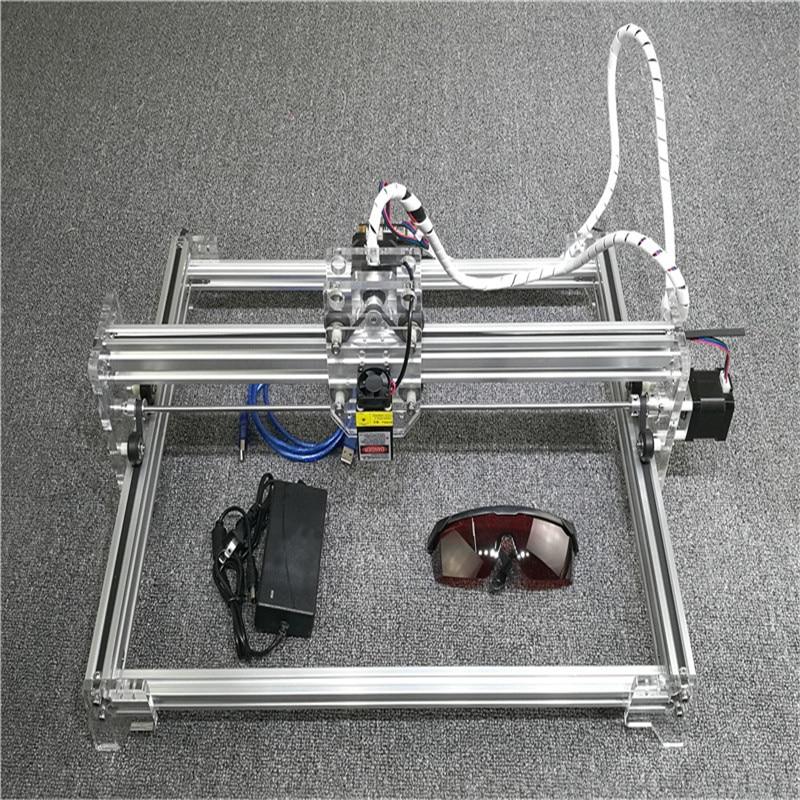 Laser Cutting Engraving Machine 1600mW USB Laser Engraver Desktop 300*400mm Wood Router cheap cnc laser machine engraving letters laser engraving cutting machine desktop 6090 engraver