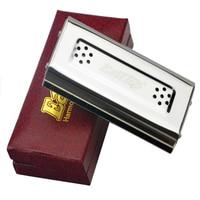 Easttop 10 Holes Harmonica Both Sides C G Key Harmonica Diatonic Harp Musical Instruments Mouth Ogan