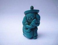 Opracowanie TNUKK Chiński Starym stylu Handmade Sztuczna Turquoise Żywicy Rybak Tabaka Butelki