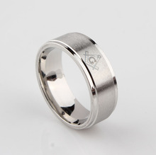 maçonaria anel masculinas tira