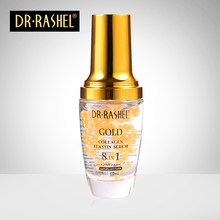 Gold collagen elastin serum anti wrinkle aging moisturizing serum Acne Treatment Whitening Face Ageless Beauty Skin care gold caviar collagen serum