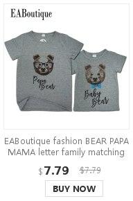 【】Eaboutique/Новая мода письмо босс Одежда для всей семьи ...