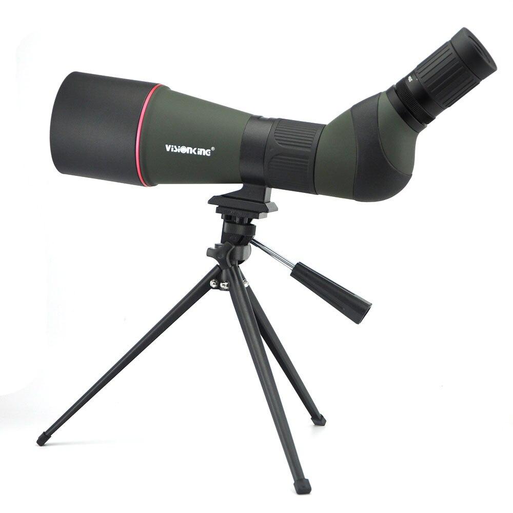 Visionking Spotting Scope 20 60x80 BAK4 Zoom Telescope Monocular 45 Degree Angle Long Range Target Shooting