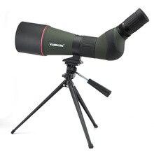 스포팅 범위 20 60x80 BAK4 줌 망원경 단안 45도 각도 장거리 사격 Birdwatching
