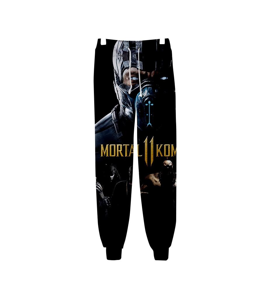Pullover Sweatshirts Streetwear-Pants Print Harajuku-Style Fashion 11 3D Hoodies Kombat