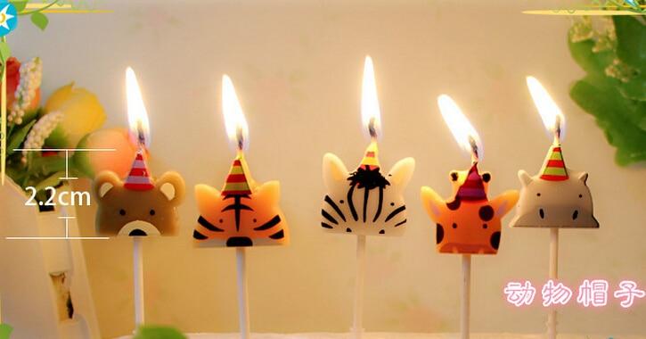 Hot Sales Creative Cute Cartoon Animals Hat Shape Birthday
