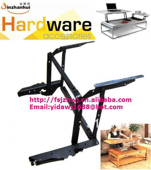 wall cabinet hinge and lift up coffee table mechanism ,  sliding mechanism