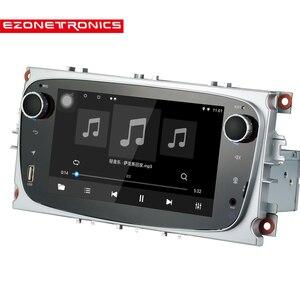 Image 3 - Android 8.1 per Ford Messa A Fuoco Mondeo Galassia S max Car Stereo Autoradio 2GB DDR3 Octa Core 7 Schermo tocco GPS Bluetooth Headunit WiFi