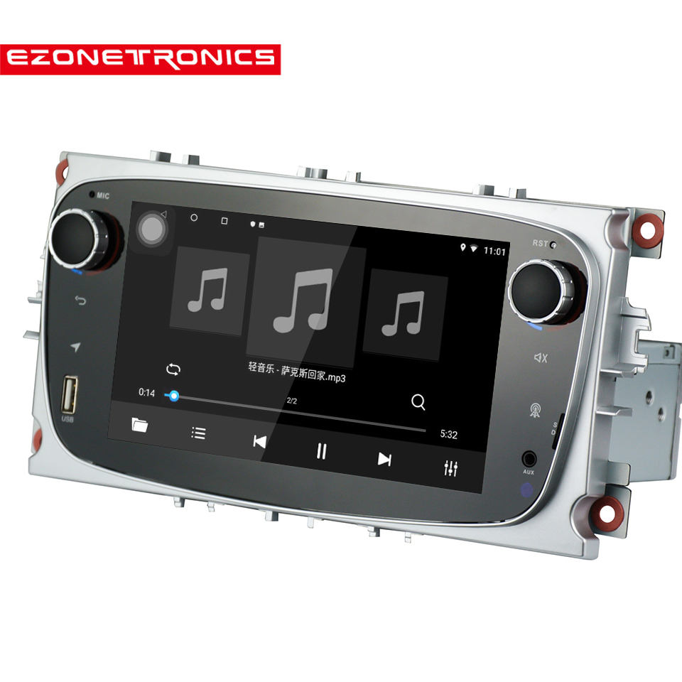 Android 8.1 voor Ford Focus Mondeo Galaxy S max Auto Stereo Autoradio 2GB DDR3 Octa Core 7 Scherm touch GPS Bluetooth Autoradio WiFi - 3