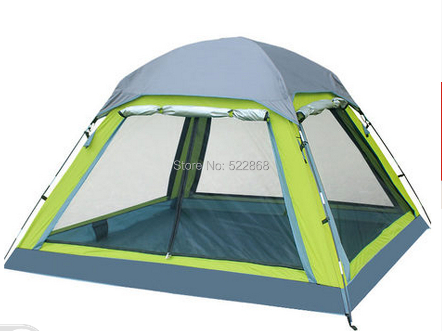 FEITUO outdoor tent 3-4 person camping tent camping more than double rain canopy large outdoor tent 34 3 4 person big size tent for outdoor camping large size camping tent 245x245x145cm 4 67kg