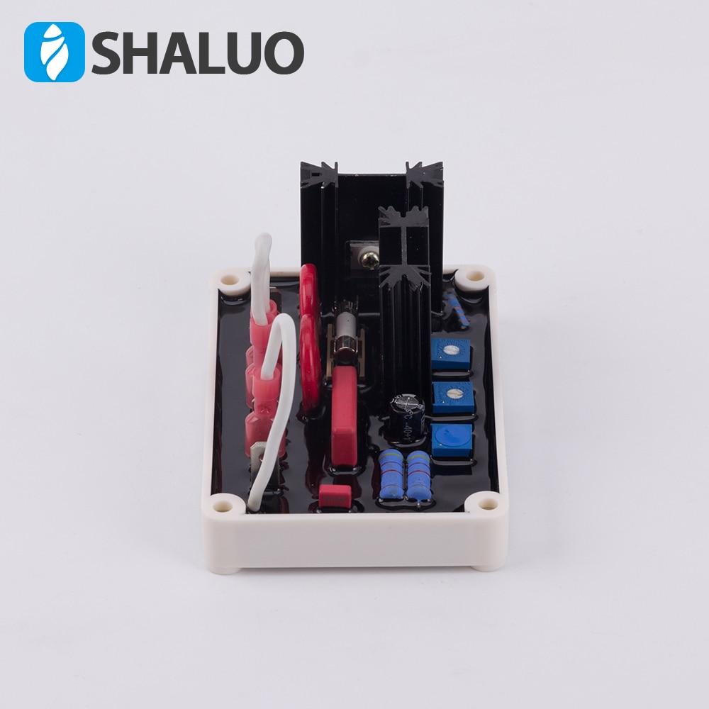 SHALUO однофазный AVR VR63-4 бесщеточный генератор автоматический регулятор напряжения совместимый с Basler регулятор