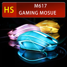 E-3LUE M617 Optical USB Gaming mouse Colorful backlight wired Pro game For Laptop PC Computer gamer RTS FPS CF LOL office