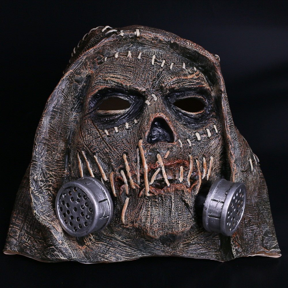 Batman Mask Suicide Squad Scarecrows Masks Dr. Jonathan Crane Mask Blocks DC Batman Superhero Mask Halloween Party Prop (16)