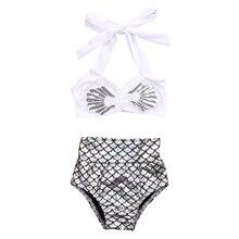 hirigin Summer Toddler Kid Baby Girl Bikini Set 2Pcs Halter Top Shorts Swimwear Swimsuit Beachwear Bathing Suit Swimming Costume