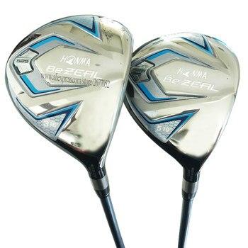New Women Golf Clubs HONMA BEZEAL 525 Golf Fairway Woods 3/5 wood Golf Graphite shaft L Flex wood headcover Free shipping