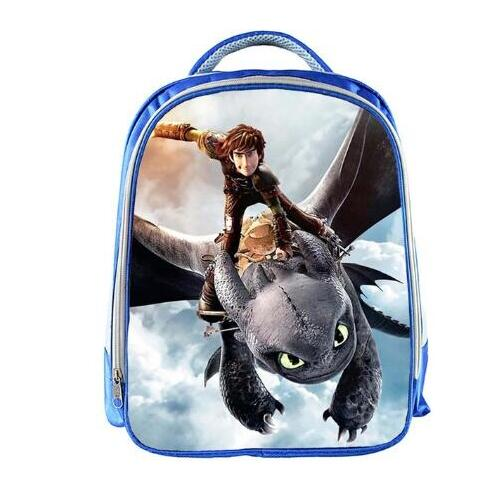 13inch How To Train Your Dragon Backpack Boys Cartoon Printed School Bags School Backpack Bookbag Children Gift Customized