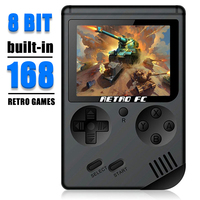 Coolbaby RS 6 A Retro Portable Mini Handheld Game Console 8 Bit 3.0 Inch Color LCD Kids Color Game Player Built In 168 Games