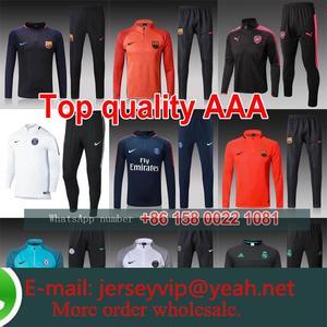 17 18 Training suit united Bayern Muniching camisetas de futbol manchesteer  city Soccer madrids 2017 2018 jersey 6b18cbc913f45