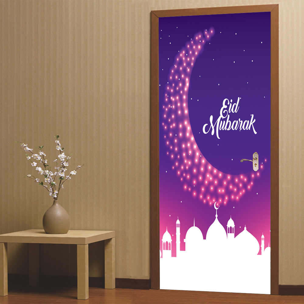 3D Muslim Arabic Islam Vinyl Decals Eid Mubarak Ramadan Kareem Wallpaper Wall Sticker Living Room Bedroom.jpg q50