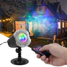 Luces LED Meteor Shower LED proyector luces para Navidad Halloween jardín al aire libre 100-240V(China)