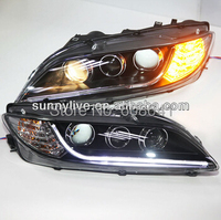 For MAZDA 6 LED Headlight Angel Eyes 2004 to 2011 year