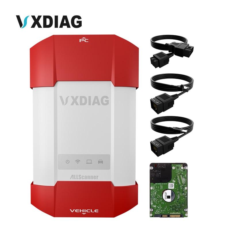 VCX VXDIAG attrezzo Diagnostico Professionale Per BMW ICOM/G-M Tech/Per Ford/Mazda Pieno Funzionale Con Il Software trasporto Libero
