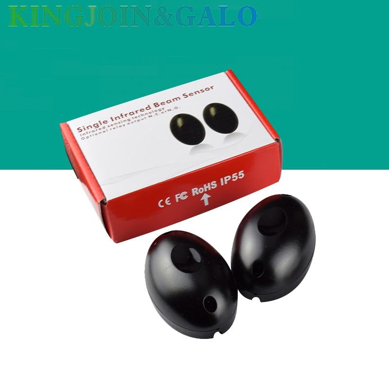 10pair Alarm system Waterproof Single Infrared Beam sensor 10m range Photoelectric Infrared Barrier Detector