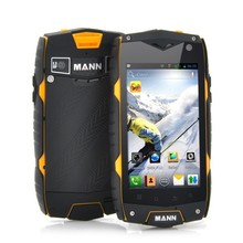 Mann ZUG3 A18 rugged cellphone 4.0″ Qualcomm Quad Core 1GB RAM ROM 4G ip68 Waterproof Shockproof Android 4.3 3G GPS mobile phone