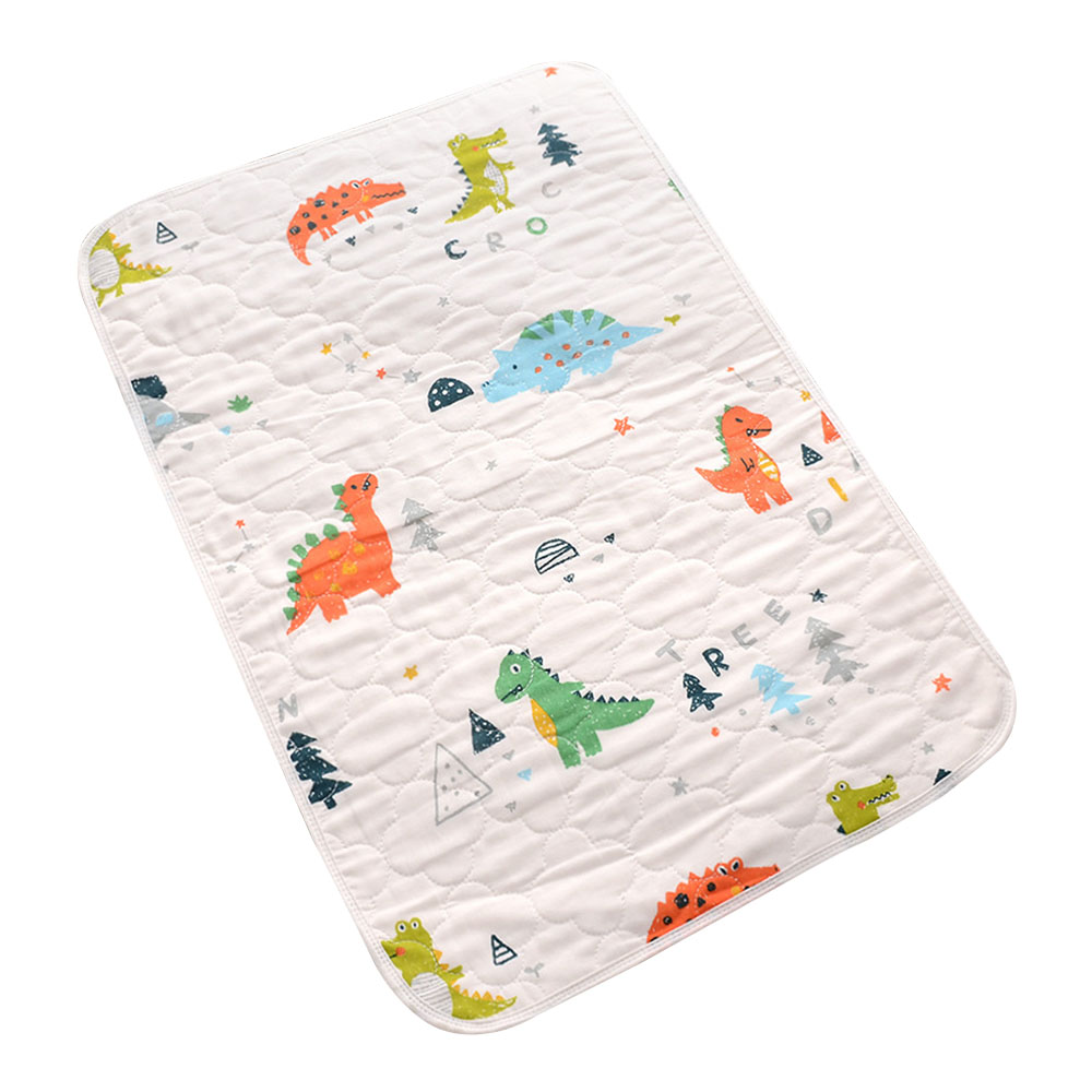 Baby Diaper Changing Pad Waterproof Reusable Mattress Non-slip Breathable Cotton Gauze Floor Mat infants Portable Changing Pads
