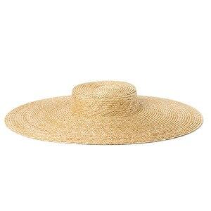 Image 2 - Шляпа женская летняя большая с широкими полями 15 см