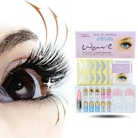 Big Size Natural Eyelash Perm Kit Eye Wimper Lifting Professional Kit Mini Eyelashes Growth Serum Glue Products Makeup