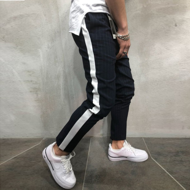 Spring Autumn Casual Men Sweat Pants Male Sportswear Casual Trousers Straight Pants Hip Hop High Street Spring Autumn Casual Men Sweat Pants Male Sportswear Casual Trousers Straight Pants Hip Hop High Street Trousers Pants Joggers
