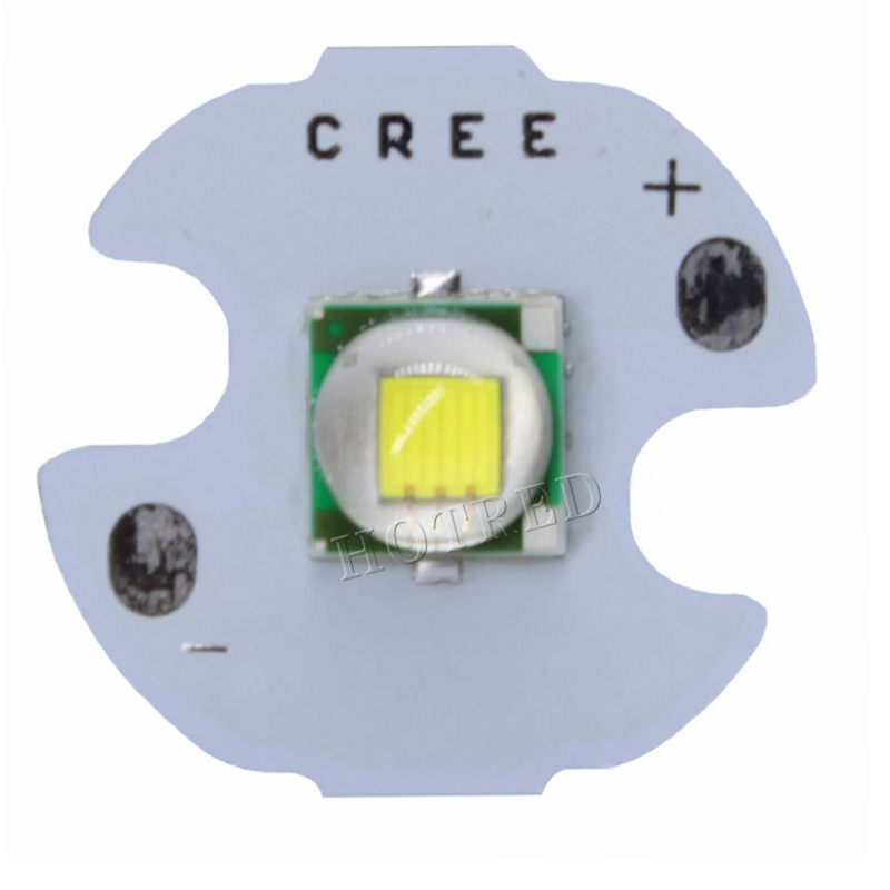 10 PCS CREE XML XM-L T6 LED T6 U2 10W WHITE Warm White High Power LED Chip Emitter With 12mm 14mm 16mm 20mm PCB For DIY