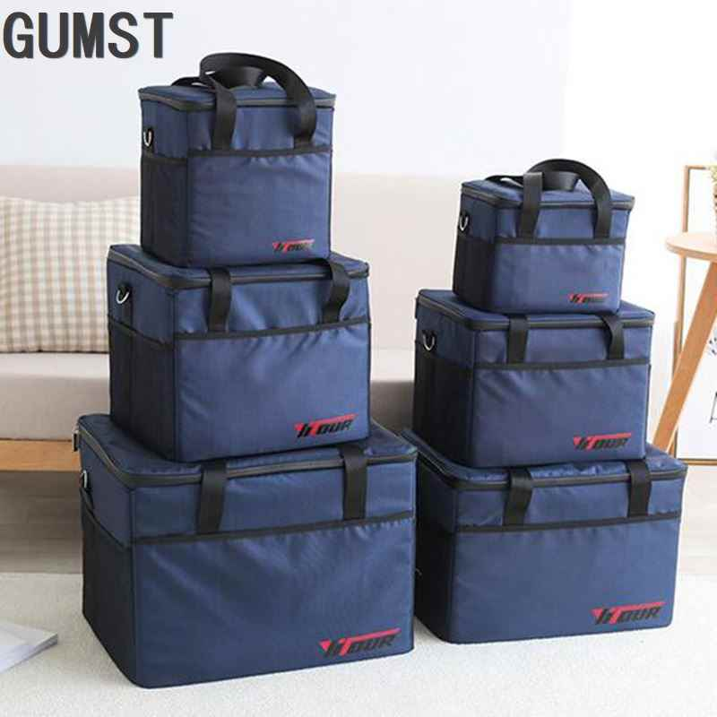 10L 28L 37L Grote Koeltas Waterdichte Grote Lunch Picknick Box Ice Pack Thermische Voertuig Isolatie Schouder Thermo Cool Bag