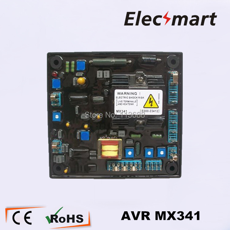 все цены на MX341 AVR   Stamford regulators generator voltage Brushless в интернете