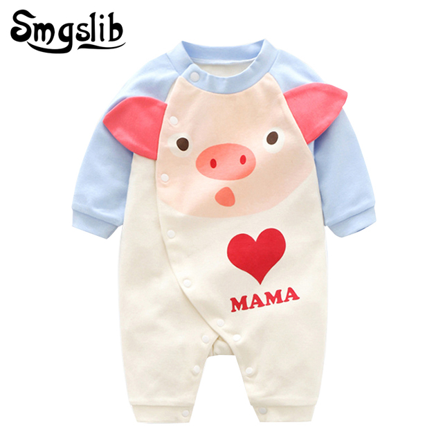 9ab35505e Baby clothes boy tiny cottons Newborn jumpsuits Baby Girl Romper ...
