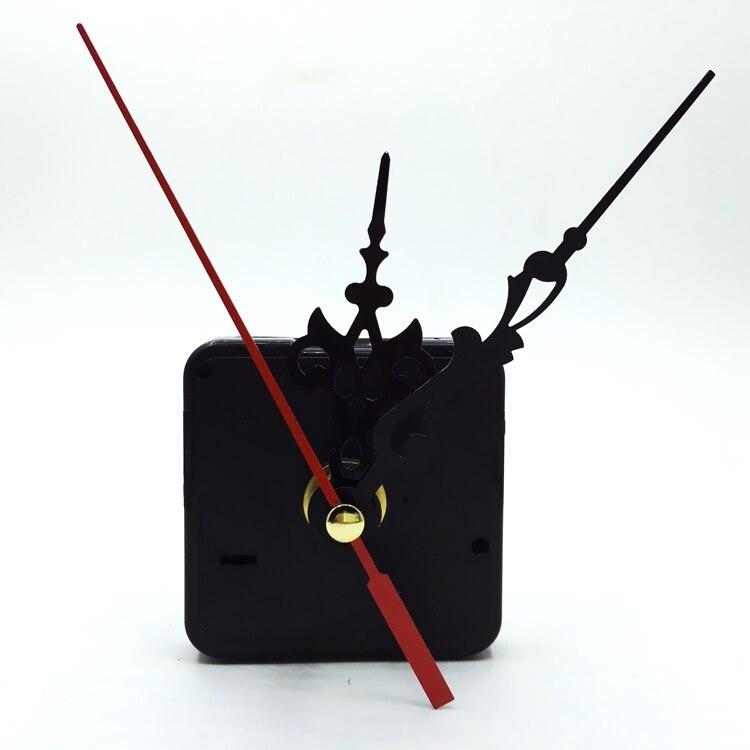 100pcsSilent Quartz Wall Clock Spindle Movement Mechanism Part DIY Repair stitches and screw gasket