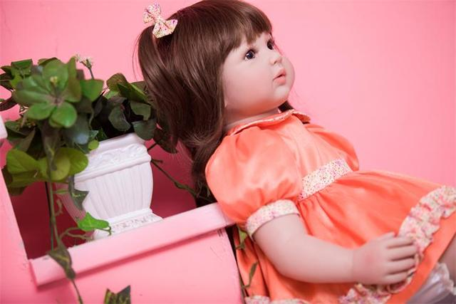 60cm Silicone Reborn Baby Doll Toys Like Real