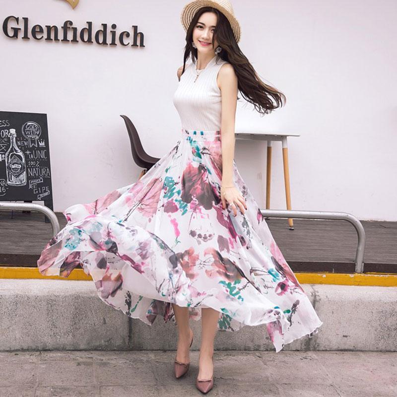 الأكثر مبيعا جودة عالية زهرة طباعة - ملابس نسائية