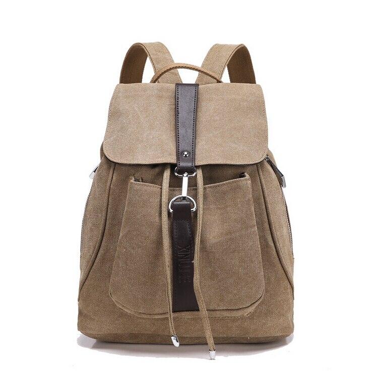 stacy pytel horký prodej unisex ženy muži plátno batoh lady muž příležitostné cestovní tašky