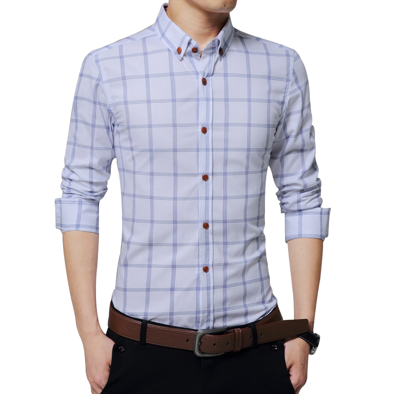 Compare Prices on Fitted Shirts for Men Long Sleeve- Online ...