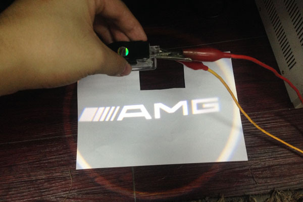 open door welcome entry door free ship led door welcome light amg open spot for mercedes benz