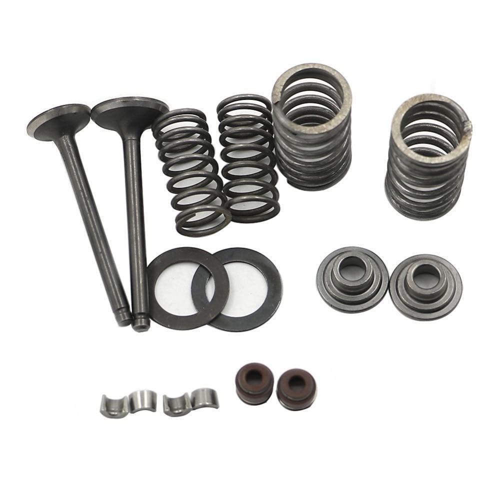 Cylinder Head Valve Spring Rebuild Kit For Yamaha: Fit 70cc 90cc Cylinder Head Valve Rebuild Kit Intake